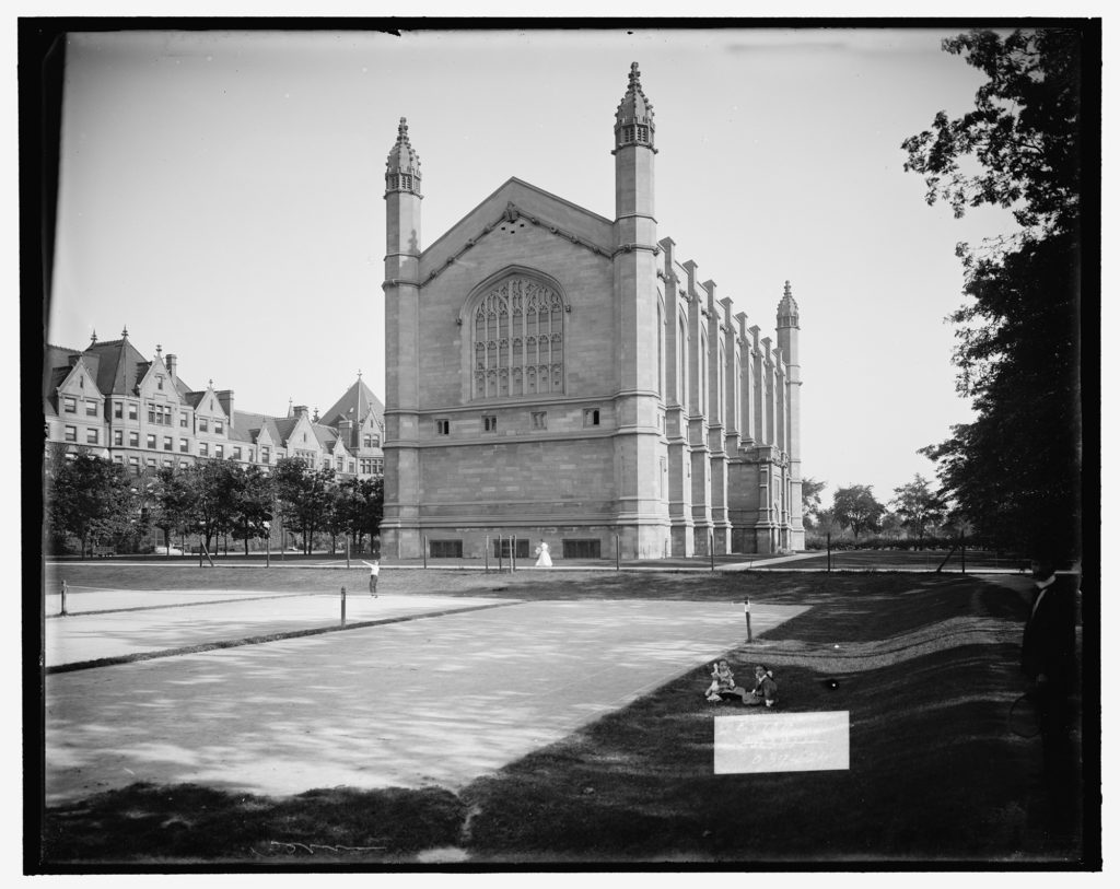 Law School building, University of Chicago c. 1900-1915. Library of Congress.