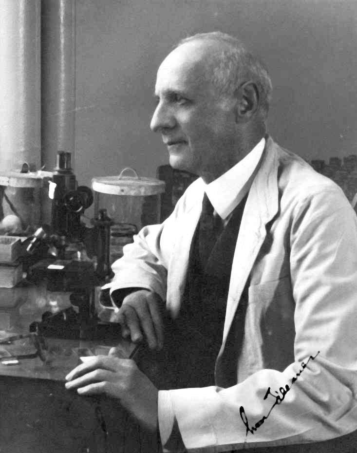 Portrait of Dr. Simon Flexner.